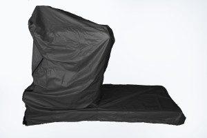 treadmill cover black non-folding