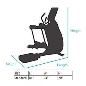 Adaptive Motion Trainer Sizing Chart