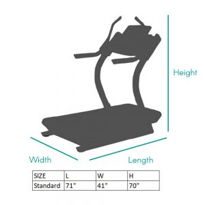 Incline Trainer Sizing Chart