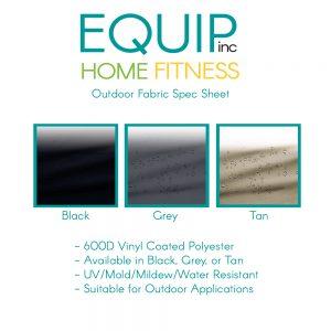 Outdoor fabric spec sheet