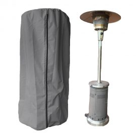 Patio heater cover grey